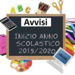 inizio Anno Scolastico 2019-2020 scuola Oblate