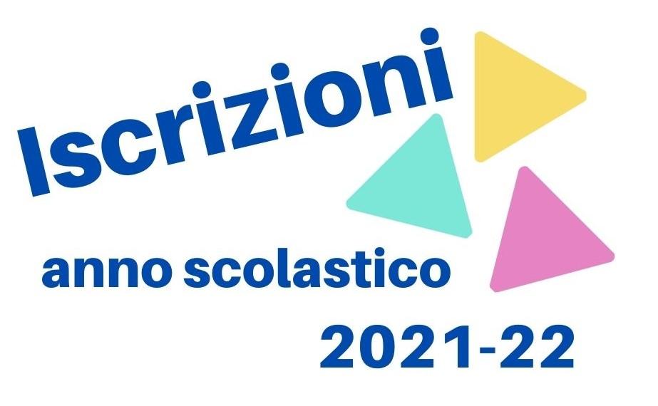 Iscrizioni Anno Scolastico 2021-22