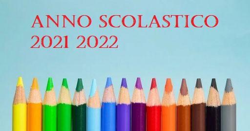 Inizio Scuola Anno scolastico 2021/22